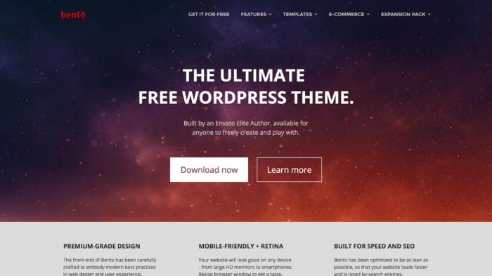 bento-wordpress-theme