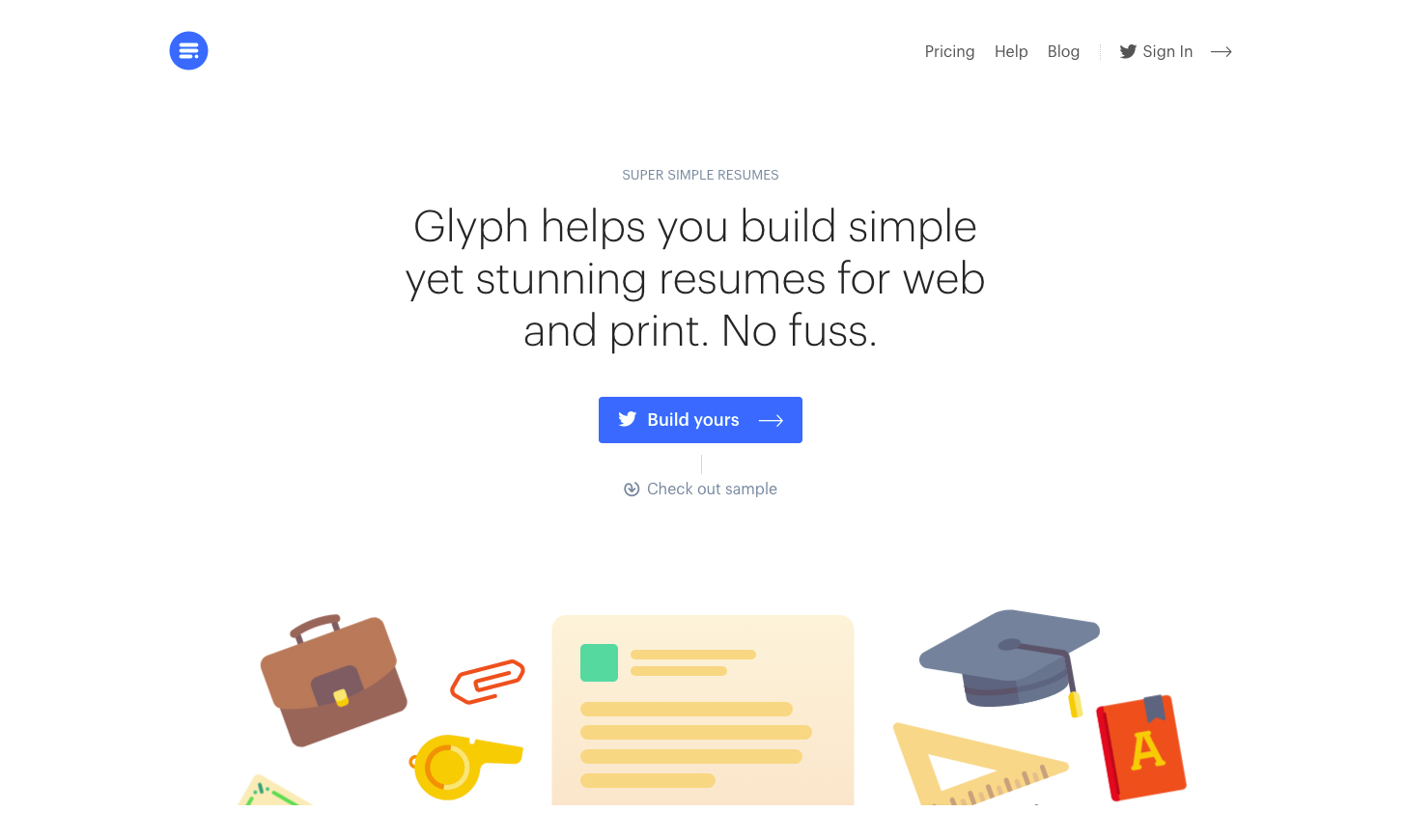 Glyph page is an example of good UX