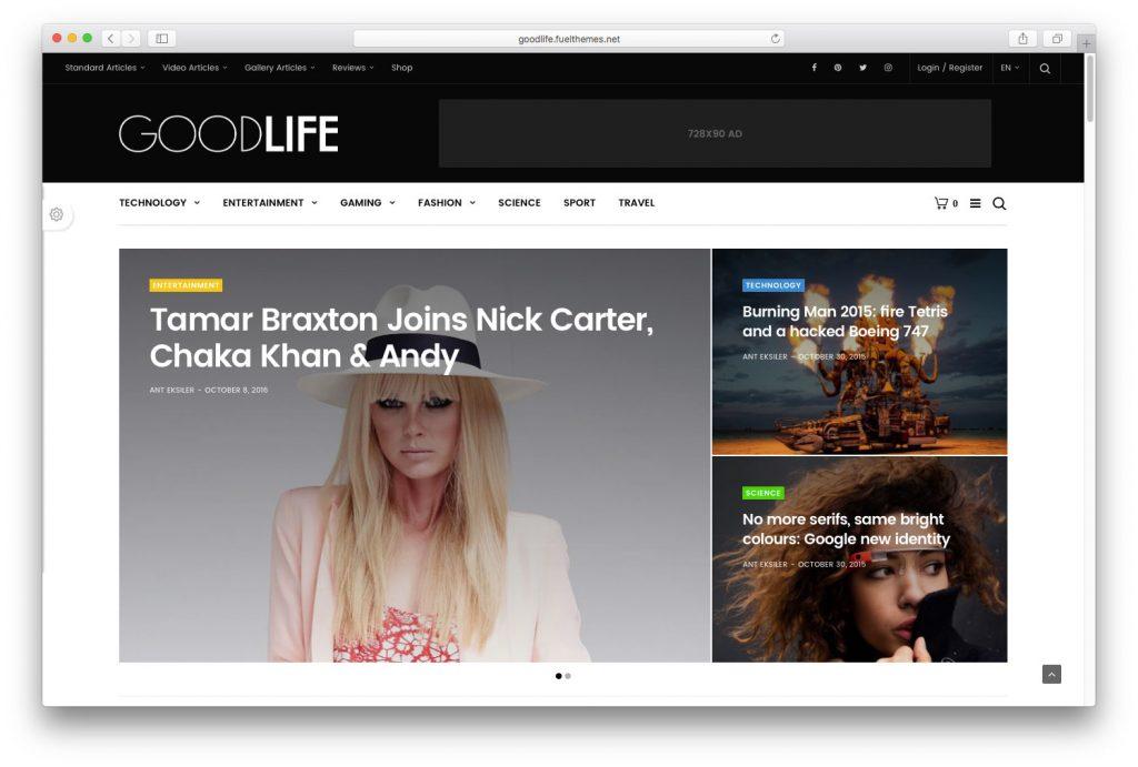 GoodLife-mobile-friendly-WordPress-themes