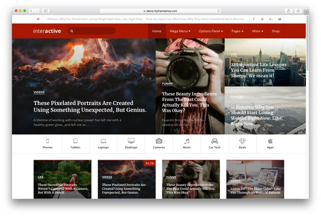 Interactive-mobile-friendly-WordPress-themes