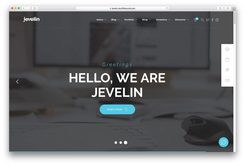 Jevelin-mobile-friendly-WordPress-themes