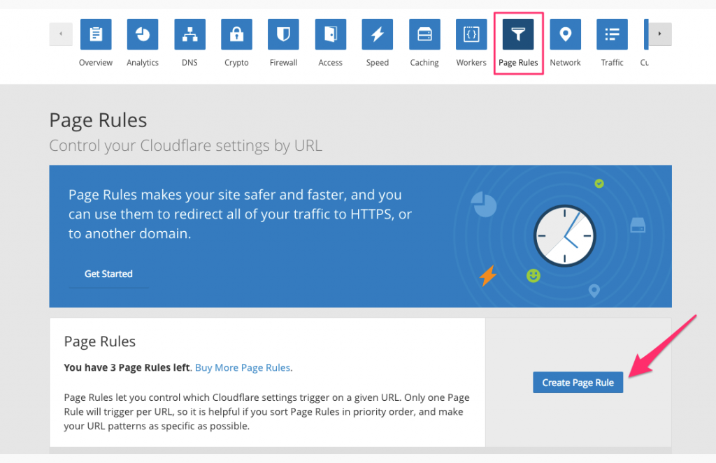 create-page-rules-cloudflare
