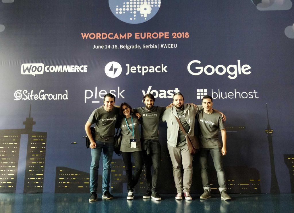Frontity-team-at-wceu-belgrade