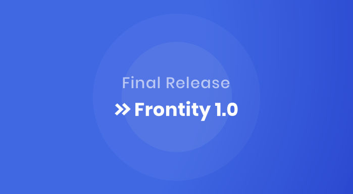 Frontity 1.0 Release