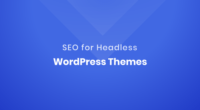 SEO for headless WordPress themes featured image
