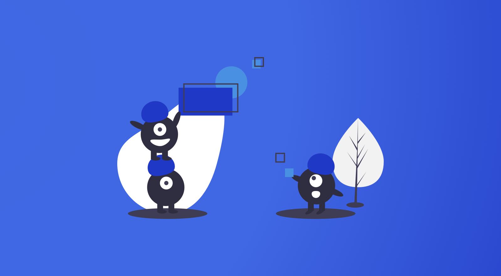 Team and collaboration illustration